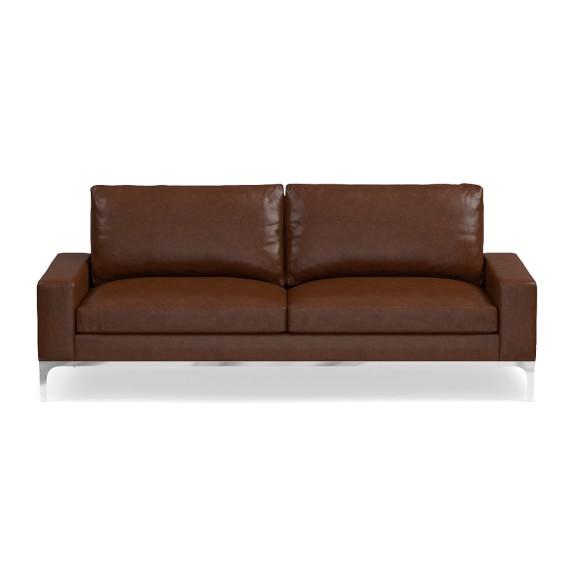 Italian Sofa Brent Cross: Lucca Leather Sofa