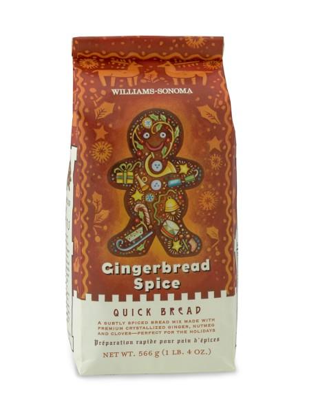 Williams-Sonoma Gingerbread Spice Quick Bread Mix