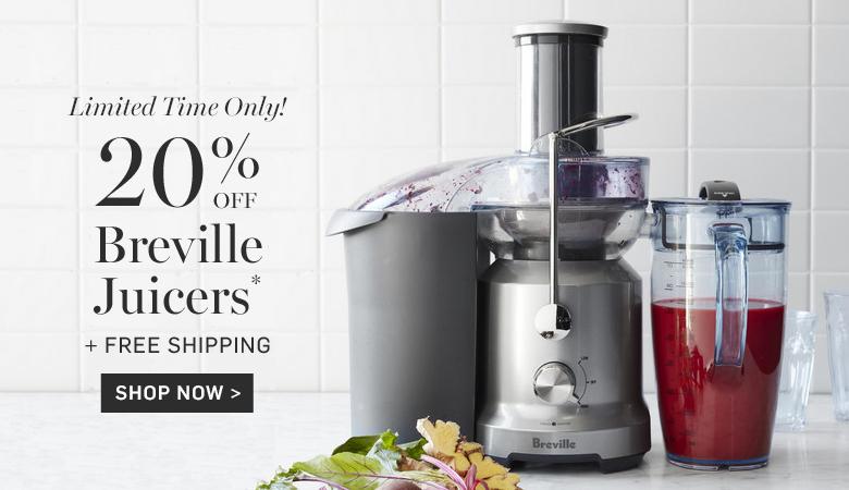 20% Off Breville Juicers