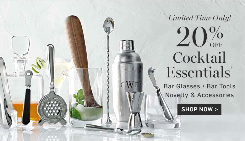 20% Off Cocktail Essentials