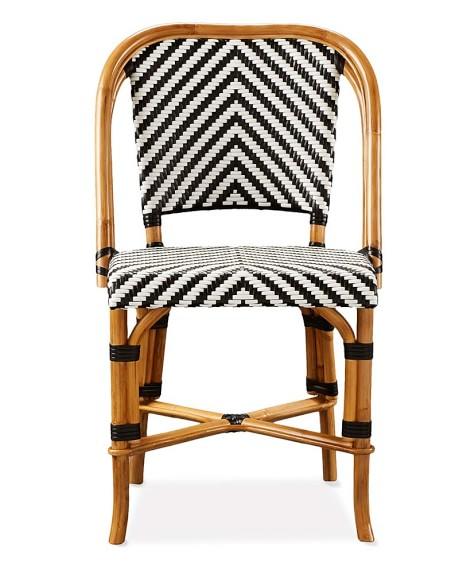Parisian Bistro Woven Side Chair Williams Sonoma