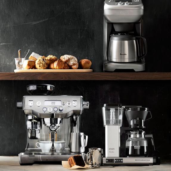 Breville Grind Control Coffee Maker Williams Sonoma