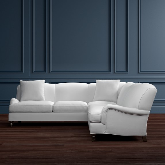 Bedford 2 Piece L Shaped Sofa Sectional Right