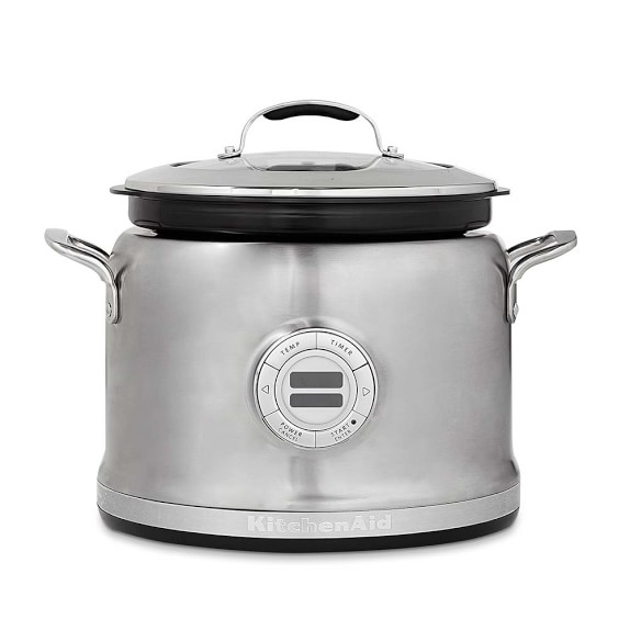 Kitchenaid 4 qt stainless steel multi cooker stir for Multi cooker