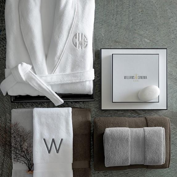 Chambers® Hydrocotton Towels, White