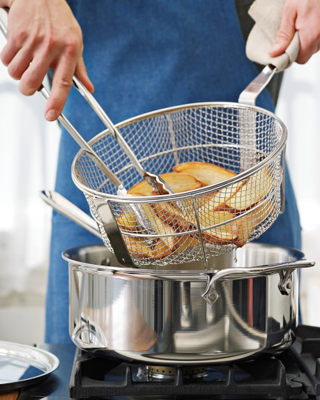 All Clad D5 Stainless Steel Deep 6 Qt Saut 233 Pan With Fry