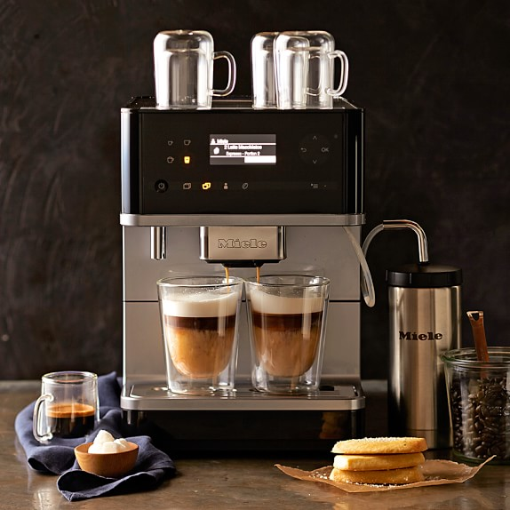 Miele Portable Coffee Maker : Miele CM6 Fully Automatic Espresso Maker Williams Sonoma