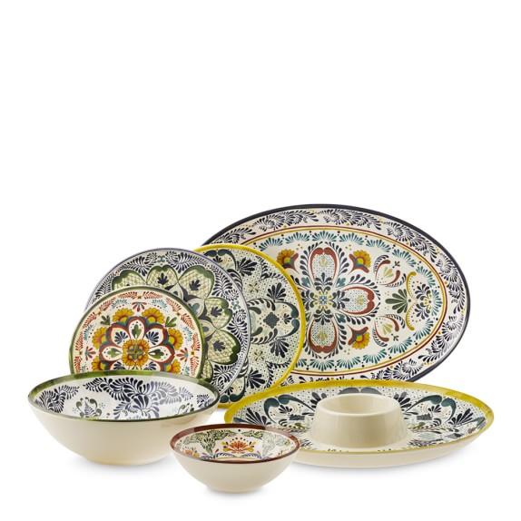 Melamine Dinnerware : Veracruz Melamine Dinnerware Collection  Williams Sonoma