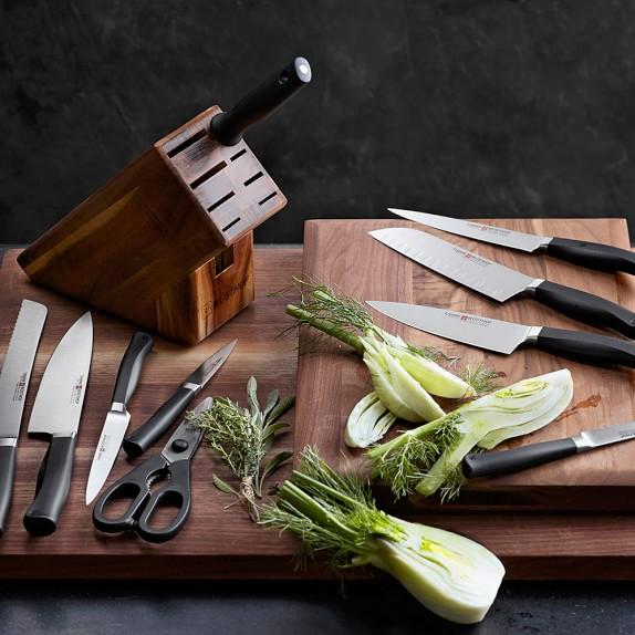 W sthof legende 7 piece knife block set williams sonoma for Wusthof kitchen essentials set 7 piece