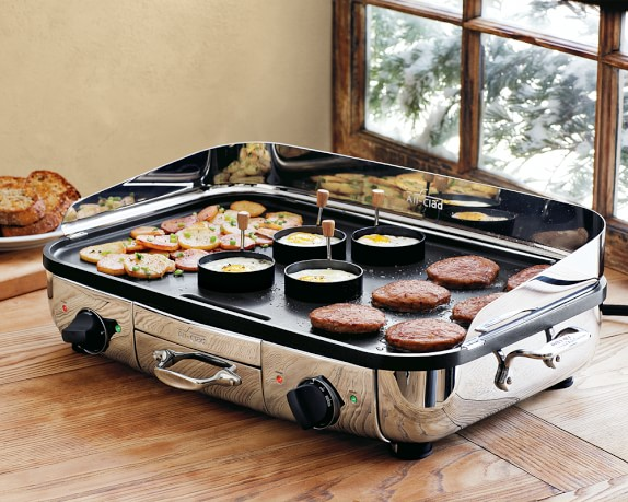 Electric Grills Griddles ~ All clad electric griddle williams sonoma