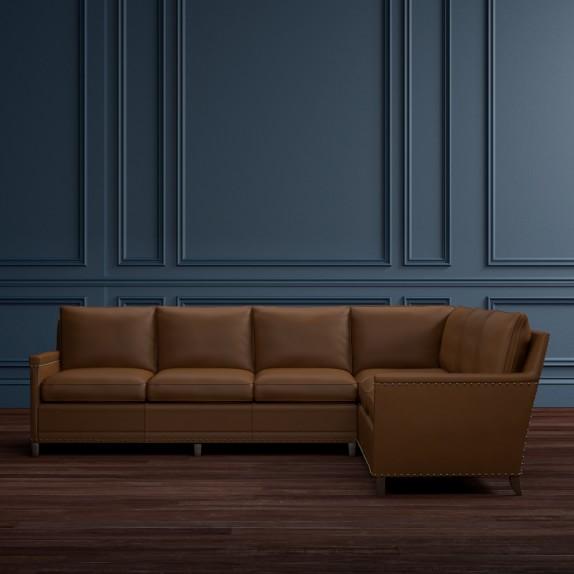 Addison 2 Piece L Shaped Sofa Sectional Left Williams