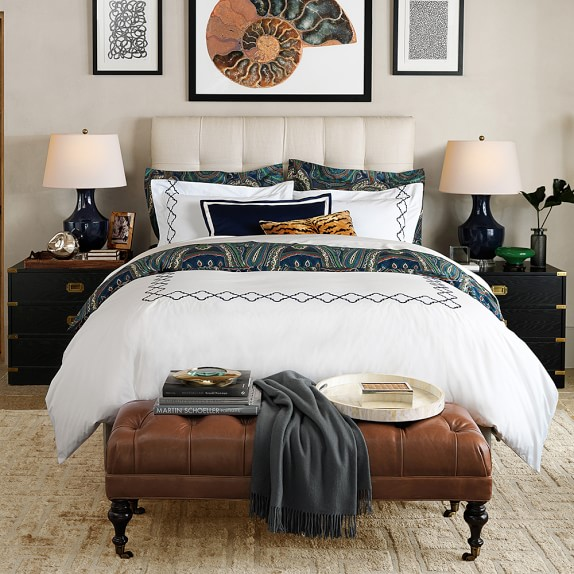 Gable Tall Bed Headboard Williams Sonoma