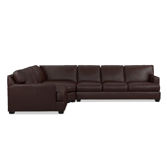 Jackson 3 piece l shaped leather loveseat with wedge sofa for 3 piece sectional sofa with wedge