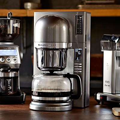 Pour Over Coffee Maker Tips : KitchenAid? Pour-Over Coffee Brewer Williams Sonoma