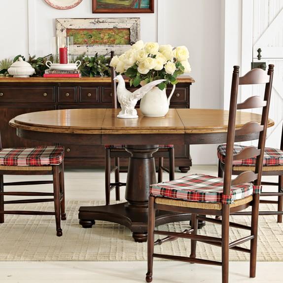 Farmhouse Round Dining Table