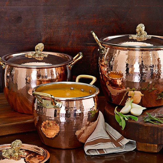 Gorgeous copper pots