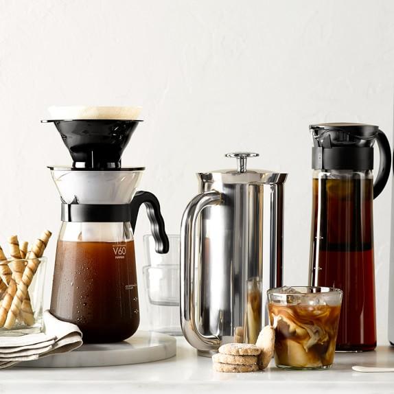 Hario V60 Fretta Pour-Over Iced Coffee Maker | Williams Sonoma