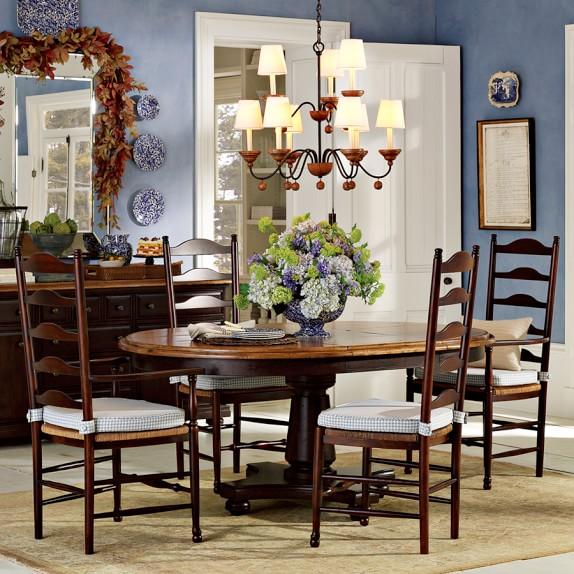 Farmhouse Dining Table: Farmhouse Round Dining Table