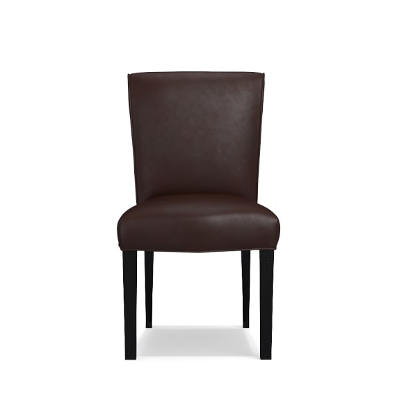 Fitzgerald Leather Side Chair Williams Sonoma