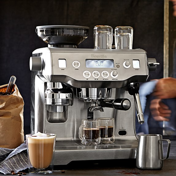 breville barista express manual coffee machine review
