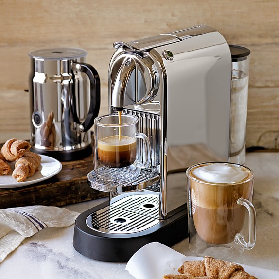 Nespresso Citiz Espresso Maker Chrome Williams Sonoma