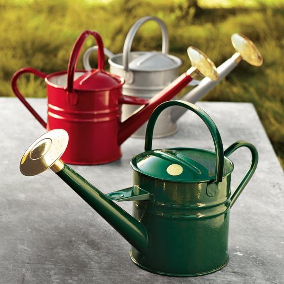 Haws traditional watering can williams sonoma - Sprinkling cans ...