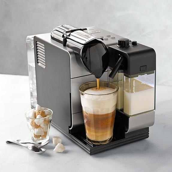 nespresso delonghi lattissima plus espresso maker williams sonoma. Black Bedroom Furniture Sets. Home Design Ideas