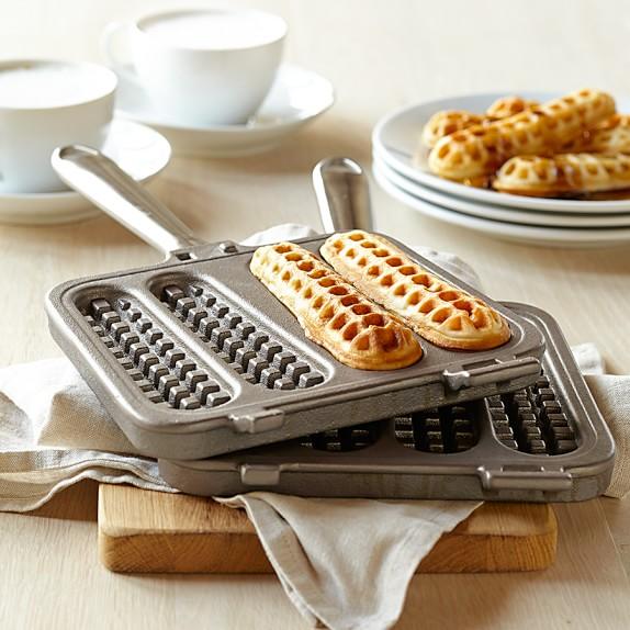 Stick On A Waffle Iron ~ Nordic ware waffle stick pan williams sonoma