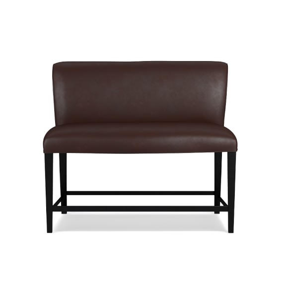Fitzgerald Counter Leather Bench