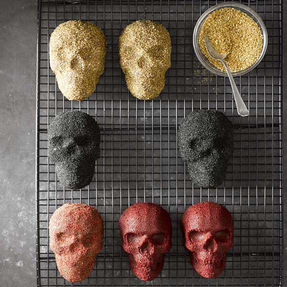 Williams Sonoma Skull Cake Pan Recipe