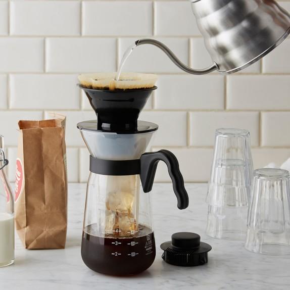 Pour Over Coffee Maker V60 : Hario V60 Fretta Pour-Over Iced Coffee Maker Williams Sonoma