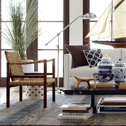 Beach Chic Living Room Inspiration Williams Sonoma