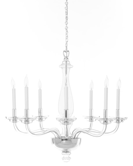 Blown glass chandelier williams sonoma Blown glass chandelier