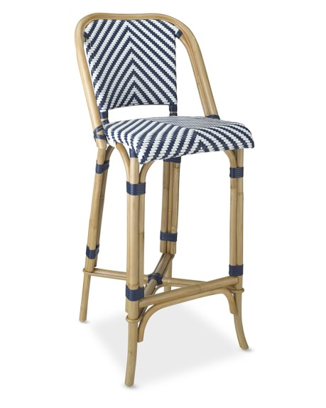 Parisian Bistro Woven Bar Stool Williams Sonoma