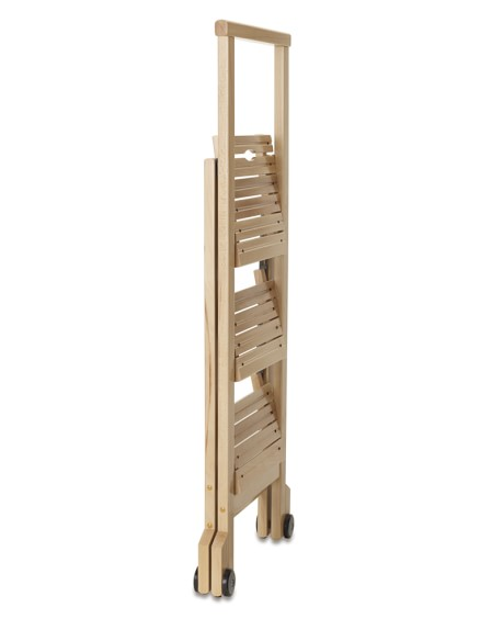 Biblio 3 Step Wooden Ladder Williams Sonoma