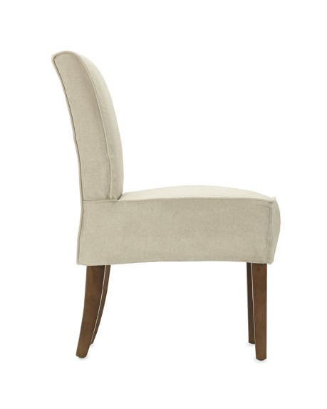Fitzgerald Slipcovered Side Chair Linen