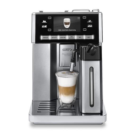 delonghi primadonna exclusive automatic espresso maker. Black Bedroom Furniture Sets. Home Design Ideas