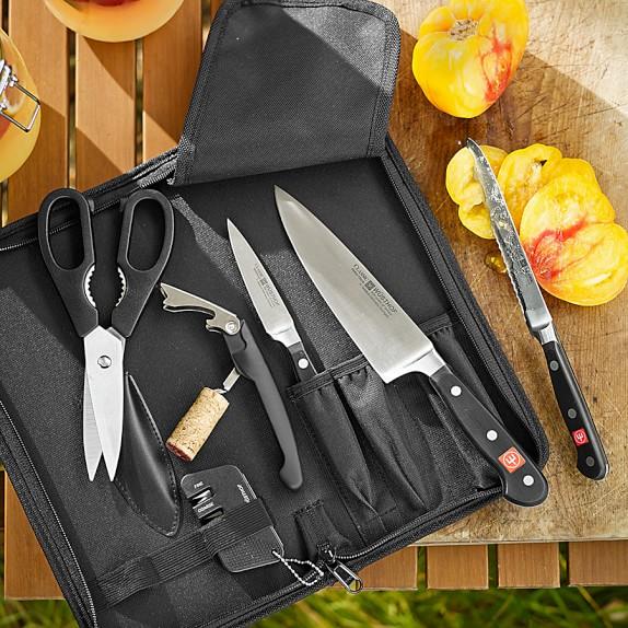 W sthof classic 7 piece traveler set williams sonoma for Wusthof kitchen essentials set 7 piece