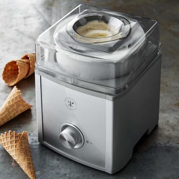 Ice Cream Maker Reviews Part - 20: Electric Ice Cream Makers Williams-Sonoma Open Kitchen Ice Cream Maker
