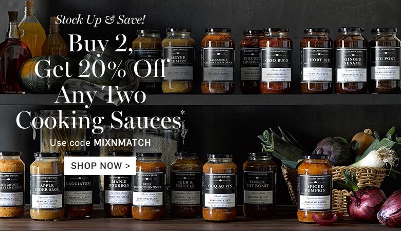 Buy 2, Get 20% Off Cooking Sauces