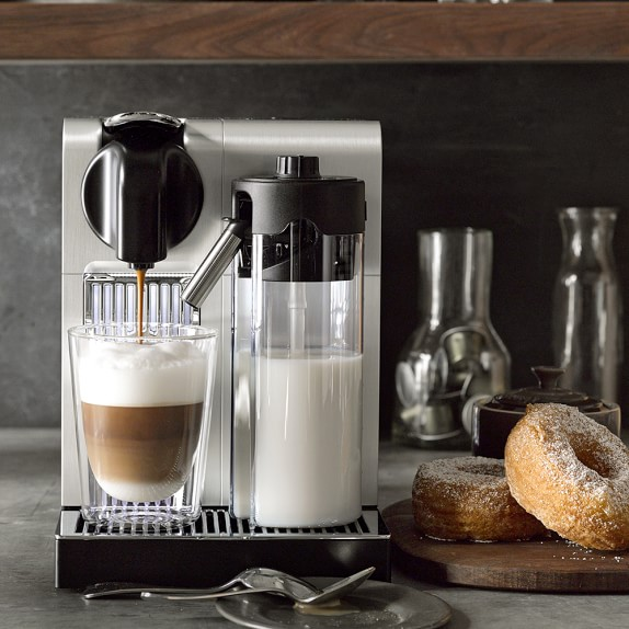 nespresso delonghi lattissima pro espresso maker williams sonoma. Black Bedroom Furniture Sets. Home Design Ideas
