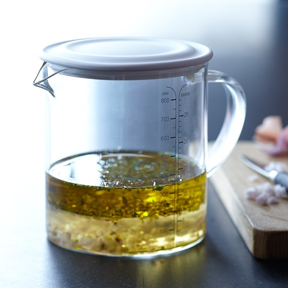 Williams-Sonoma Open Kitchen Liquid Measuring Cup with Lid