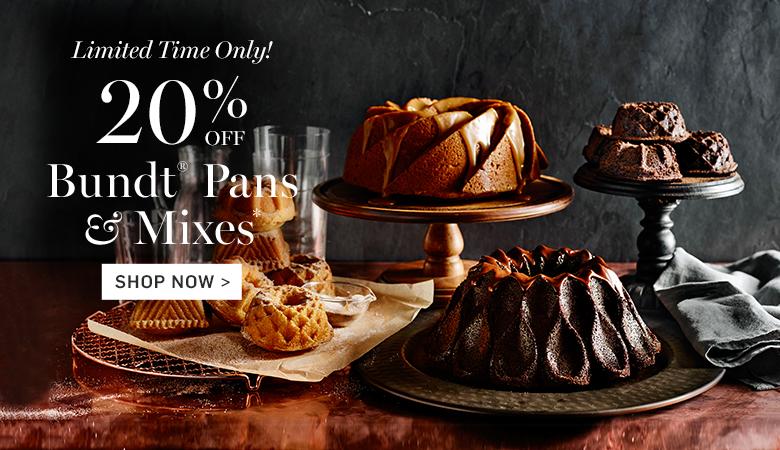 20% Off Bundt® Pans & Mixes
