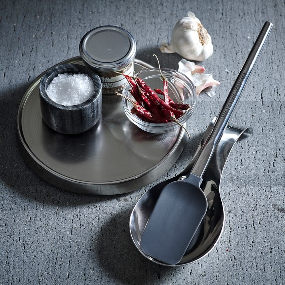 Countertop Lazy Susan, Stainless-Steel Williams Sonoma