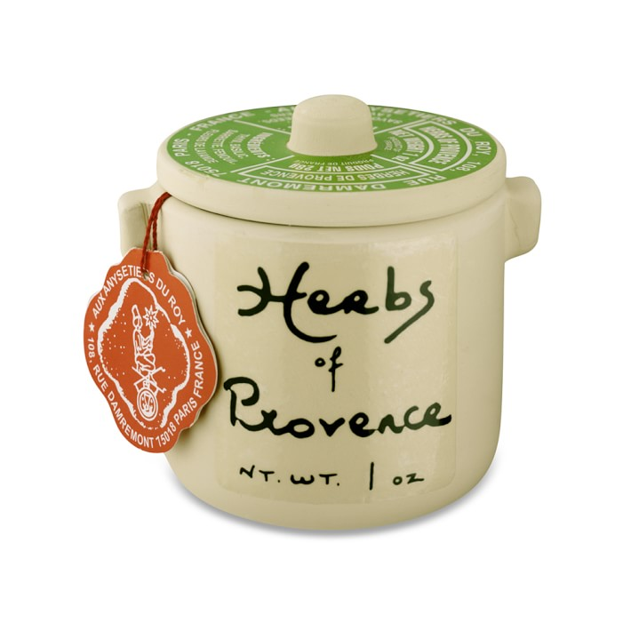 Herbs of Provence in Ceramic Crock