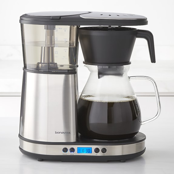 Bonavita 8-Cup Coffee Brewer with Glass Carafe Williams Sonoma