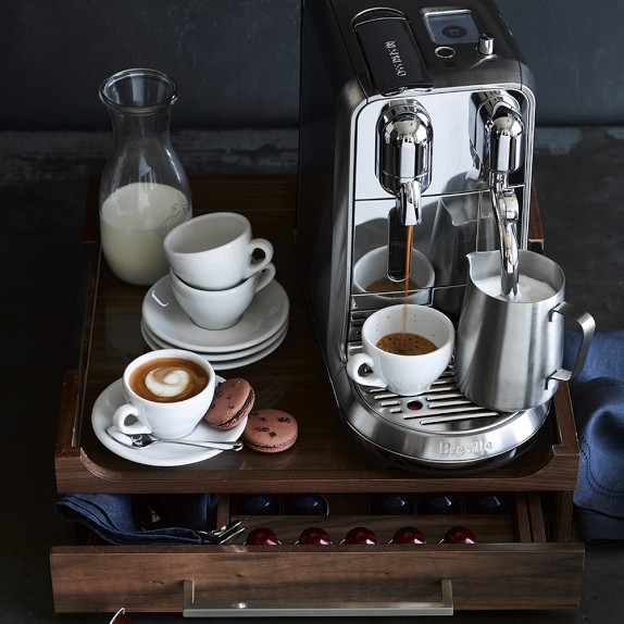 breville nespresso creatista plus espresso maker. Black Bedroom Furniture Sets. Home Design Ideas
