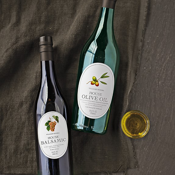 Williams Sonoma House Olive Oil & Balsamic Vinegar
