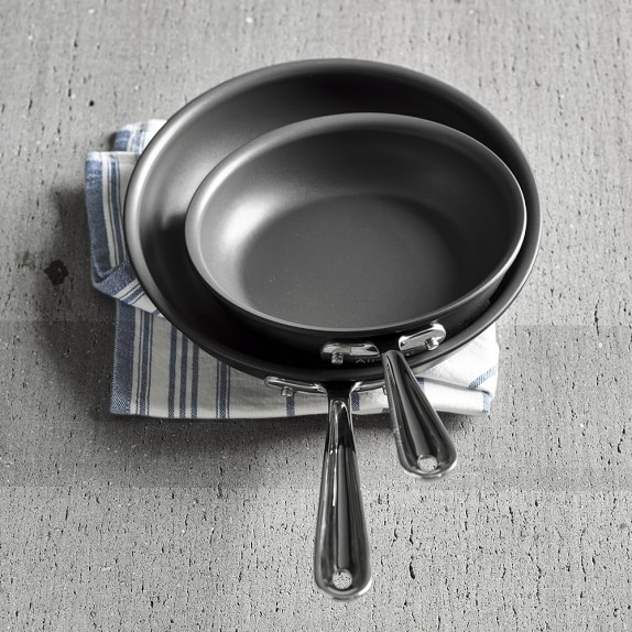 All Clad Ns1 Nonstick Induction Fry Pan Set Of 2