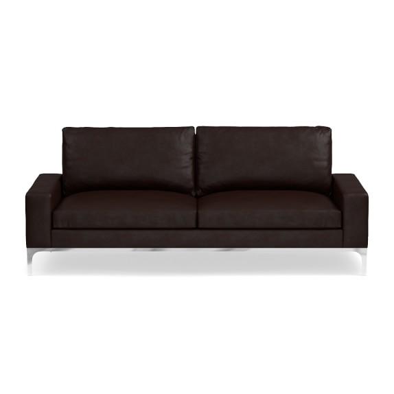 Lucca Leather Sofa Williams Sonoma